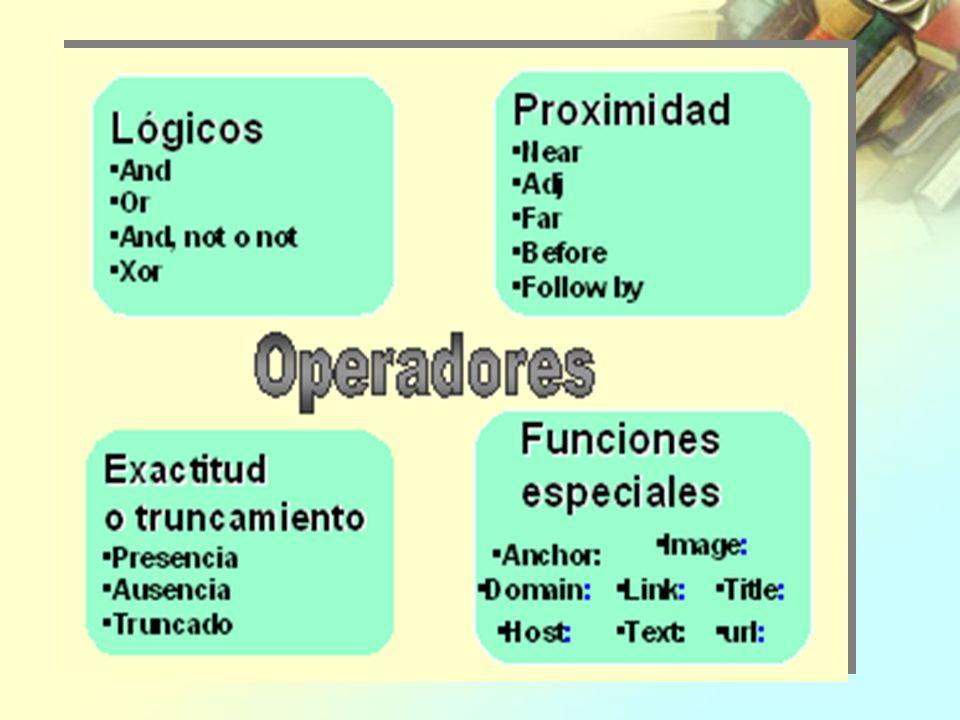 Operadores lógicos Los operadores lógicos o boléanos nos facilitan este objetivo.