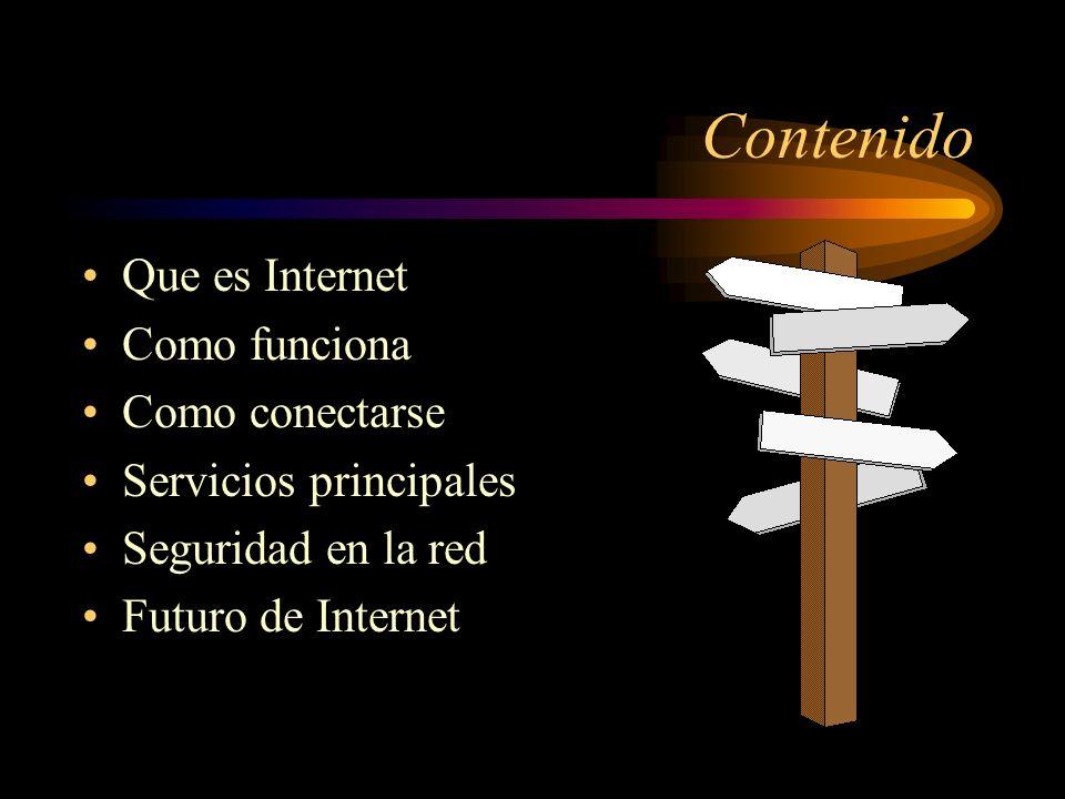 INTERNET Un mundo de posibilidades