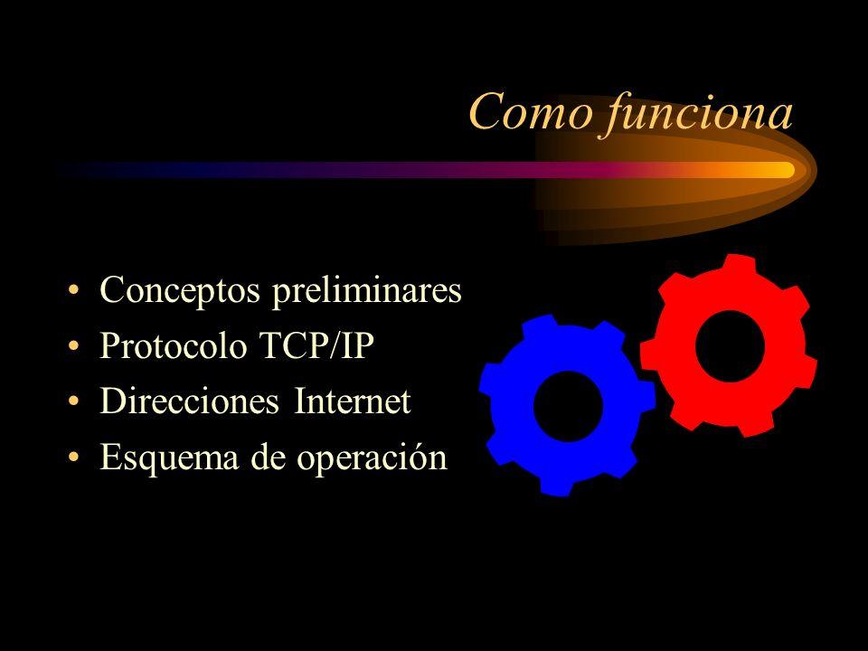 Qué es Internet Inteconected networks Técnicamente es una red de redes. No tiene dueño El acceso a la información lo limita el administrador de cada r