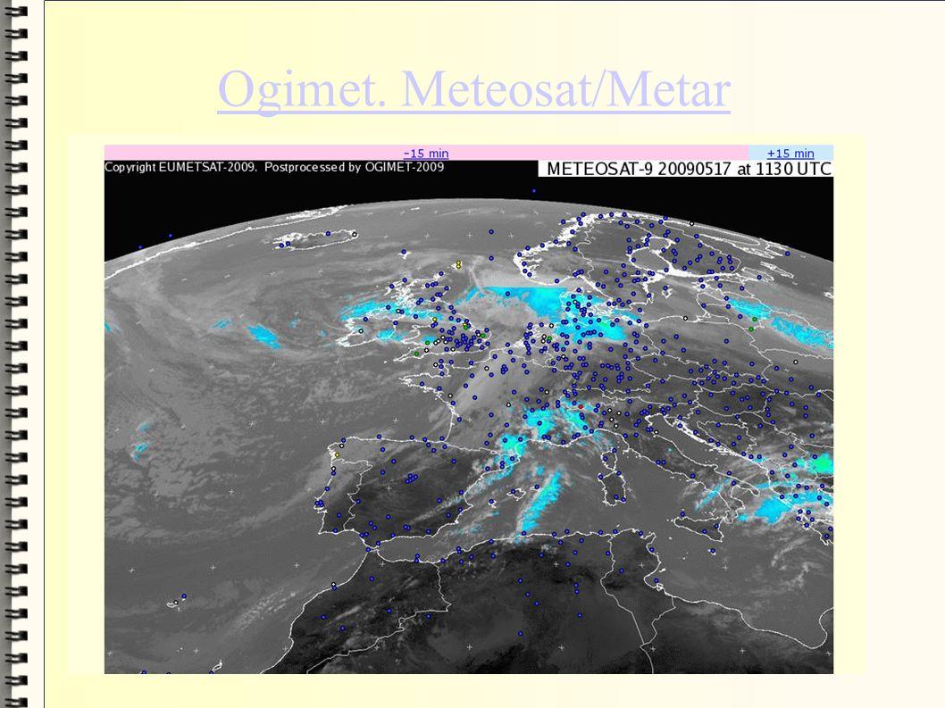 Ogimet. Meteosat/Metar