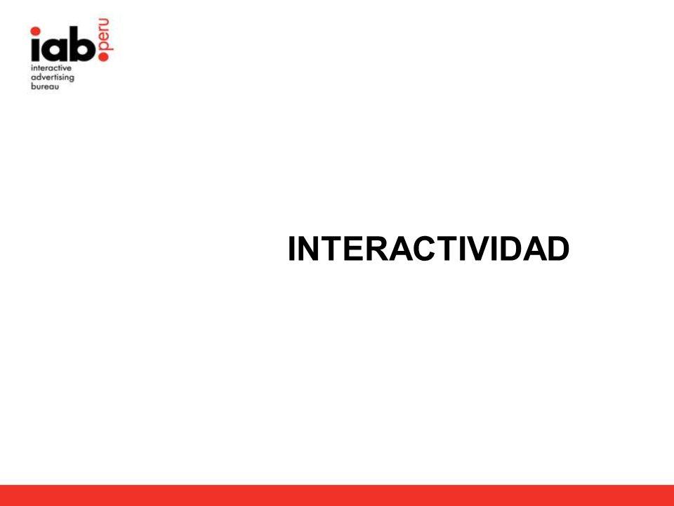 1.¿Qué es interactividad.2.¿Qué importancia cumple como beneficio para el medio Internet.