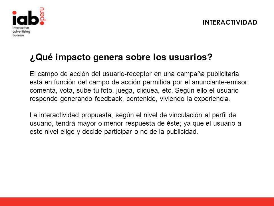 ¿Qué impacto genera sobre los usuarios.