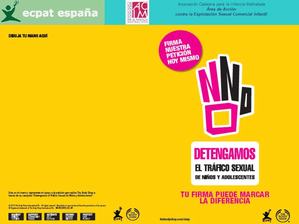 Asociación Catalana para la Infancia Maltratada Área de Acción contra la Explotación Sexual Comercial Infantil 39