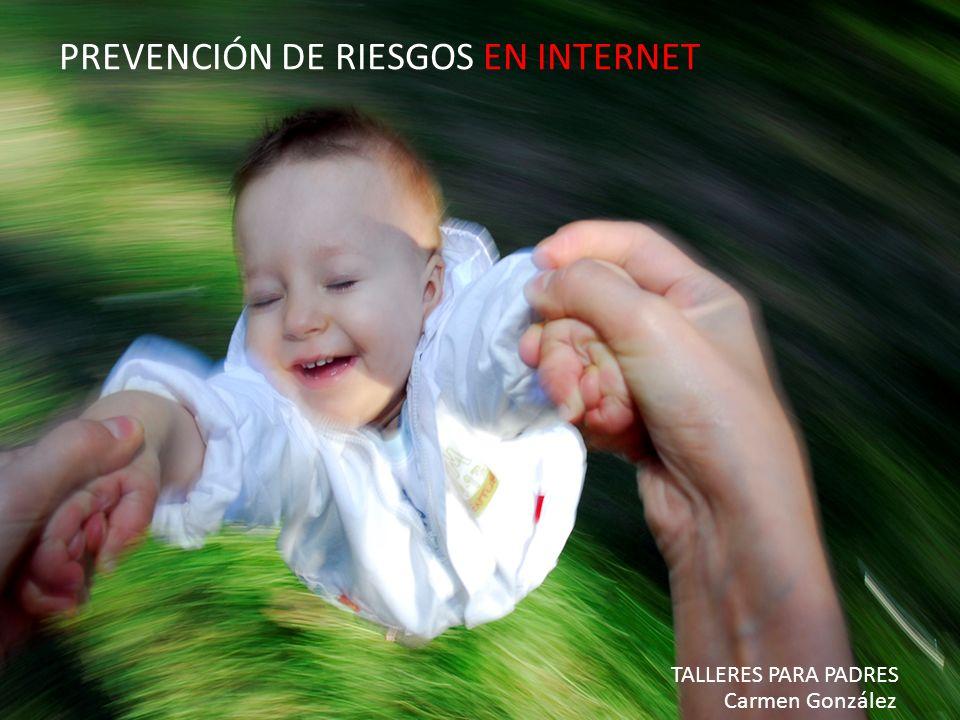 Prevención de Riesgos en Internet - Carmen González - 2010 PREVENCIÓN DE RIESGOS EN INTERNET TALLERES PARA PADRES Carmen González