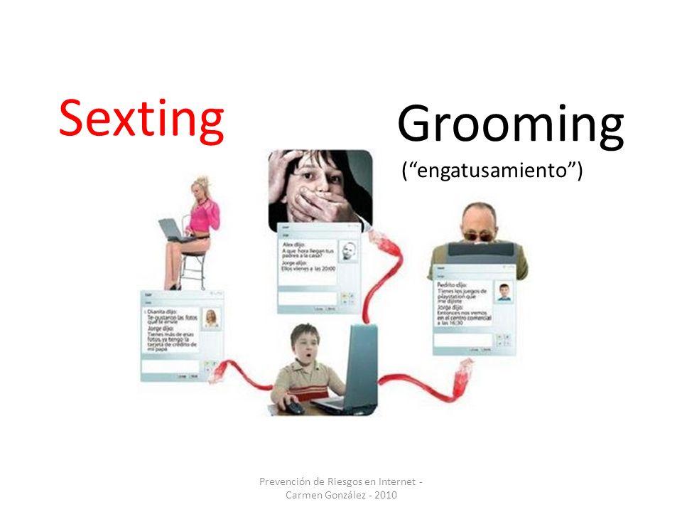 Grooming (engatusamiento) Sexting