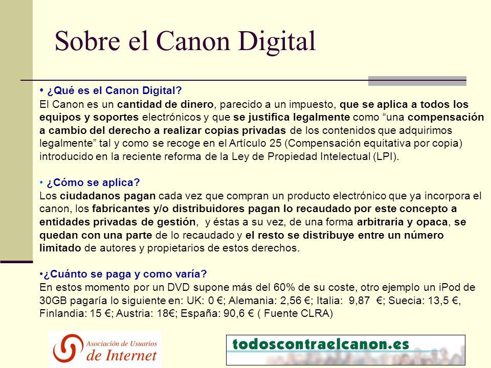 ¿Qué es el Canon Digital.