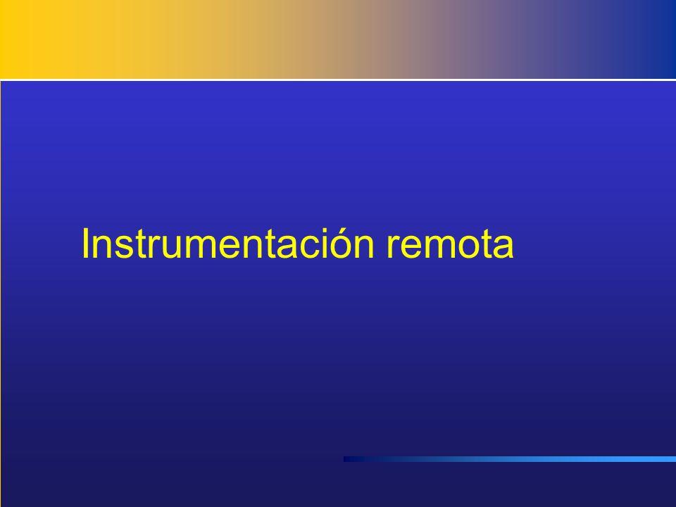Instrumentación remota