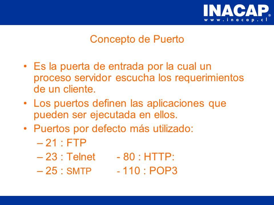 URL Protocolos que dependen del cliente: –http: –ftp –News –Otros. Máquina puede ser un nombre o IP. Recurso que puede ser una página, imagen, archivo