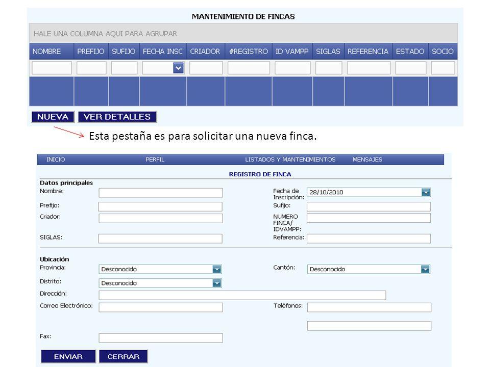 Para ingresar información de la Madre: Se puede usar la opción número de registro o arete (solo se pone el número) Elige BUSCAR.