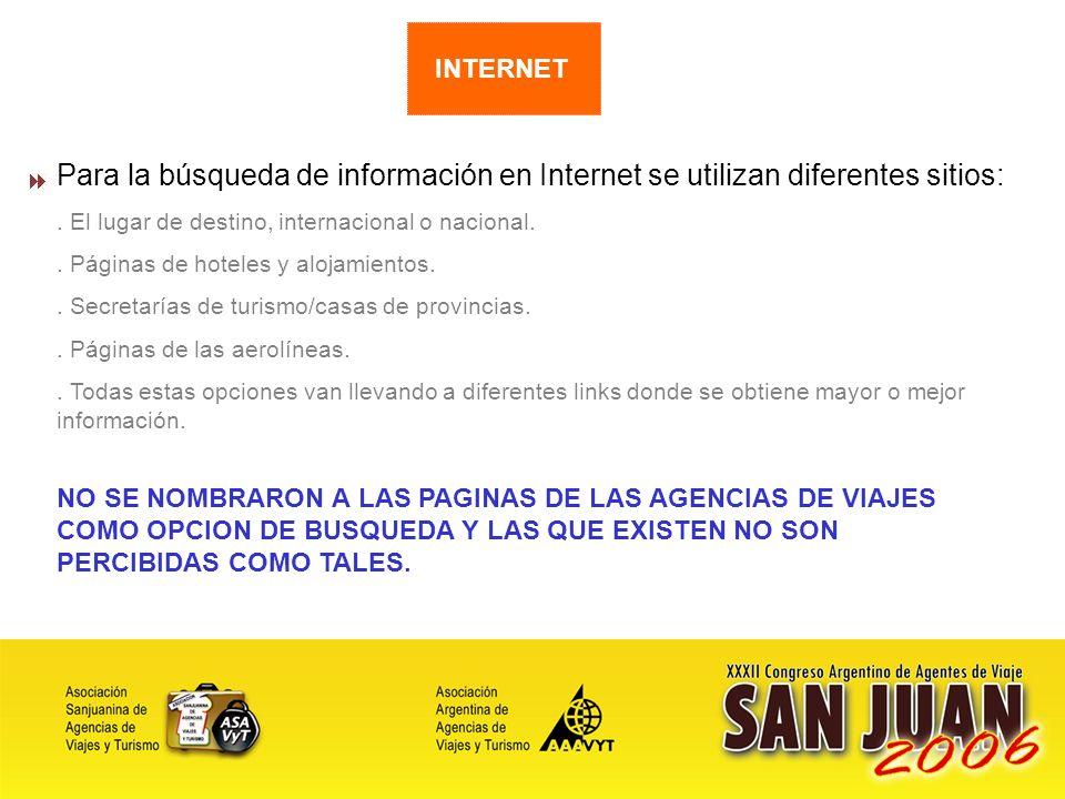 13 Para la búsqueda de información en Internet se utilizan diferentes sitios:.
