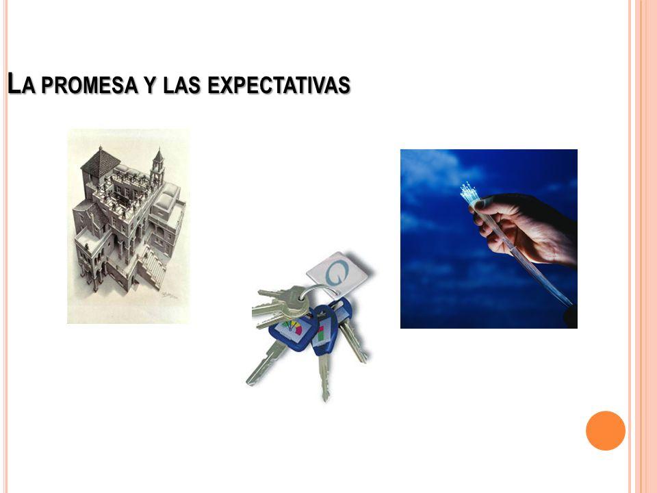L A PROMESA Y LAS EXPECTATIVAS