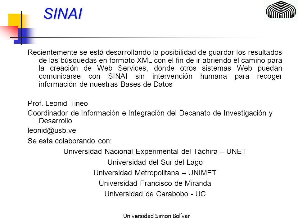 Universidad Simón Bolívar Certificación de la calidad sistémica en el proceso de desarrollo de los sistemas de Información Su objetivo general es desarrollar las bases para certificar la calidad de los Sistemas de Software bajo un enfoque sistémico.