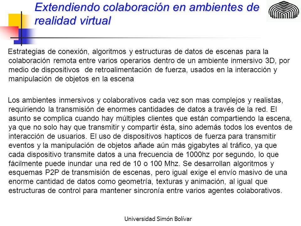 Universidad Simón Bolívar GRACIAS POR SU ATENCIÓN! leonid@usb.ve rgonzalez@usb.ve