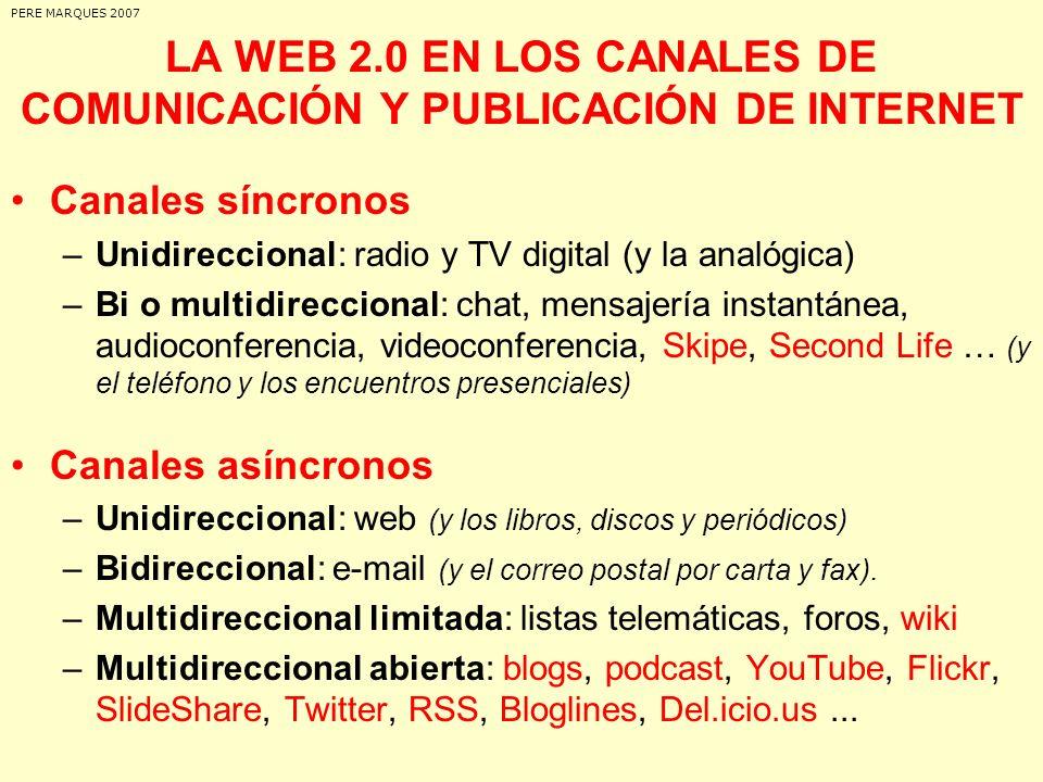 CONCEPTO DE WEB 2.0 Máxima interacción entre los usuarios y desarrollo de redes sociales donde puedan expresarse y opinar, buscar y recibir información de interés, colaborar y crear conocimiento, compartir.