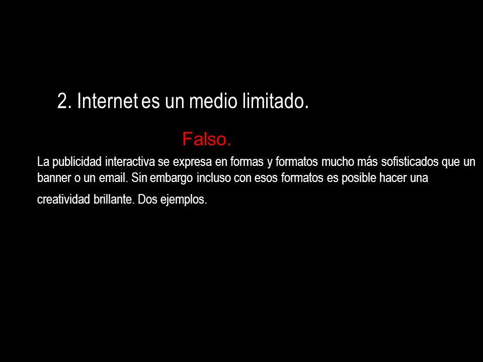 Internet: Canal de Canales Soporte de diferentes soportes Web ::::::::::::::> Canal propio, como su fuera un canal de TV, Escaparate… Campaña en canales:::::::::>Campaña en canales ajenos con audiencia.