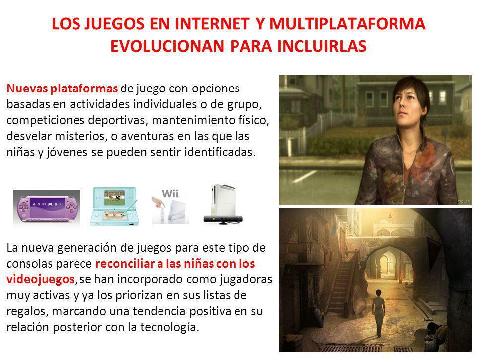 LOS JUEGOS EN INTERNET Y MULTIPLATAFORMA EVOLUCIONAN PARA INCLUIRLAS Nuevas plataformas de juego con opciones basadas en actividades individuales o de