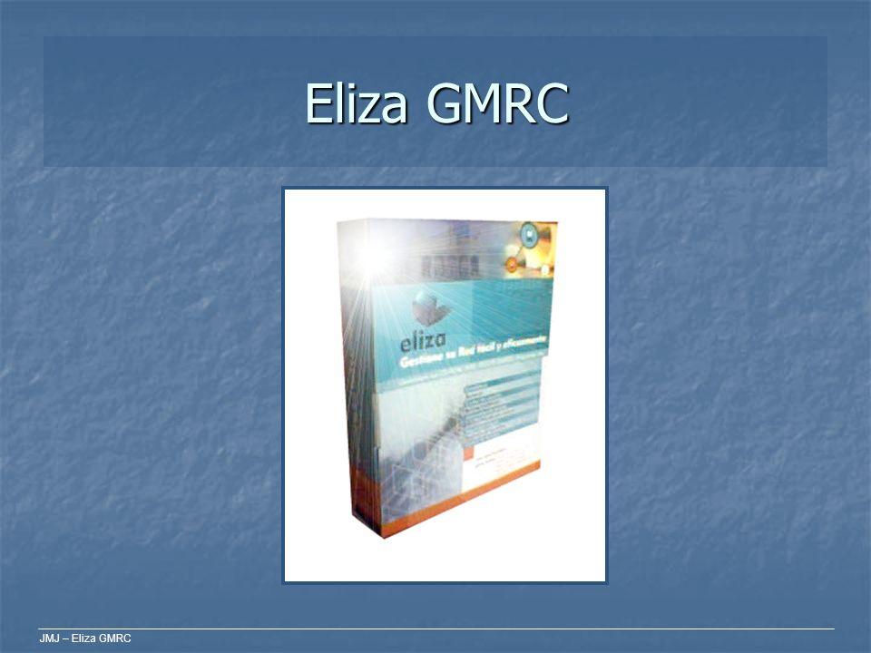 JMJ – Eliza GMRC Integración Eliza GMRC puede conectarse a otras fuentes de datos para obtener y ofrecer datos de usuarios del sistema.