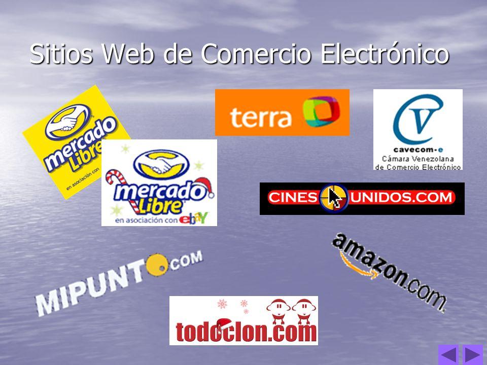 Sitios Web de Comercio Electrónico