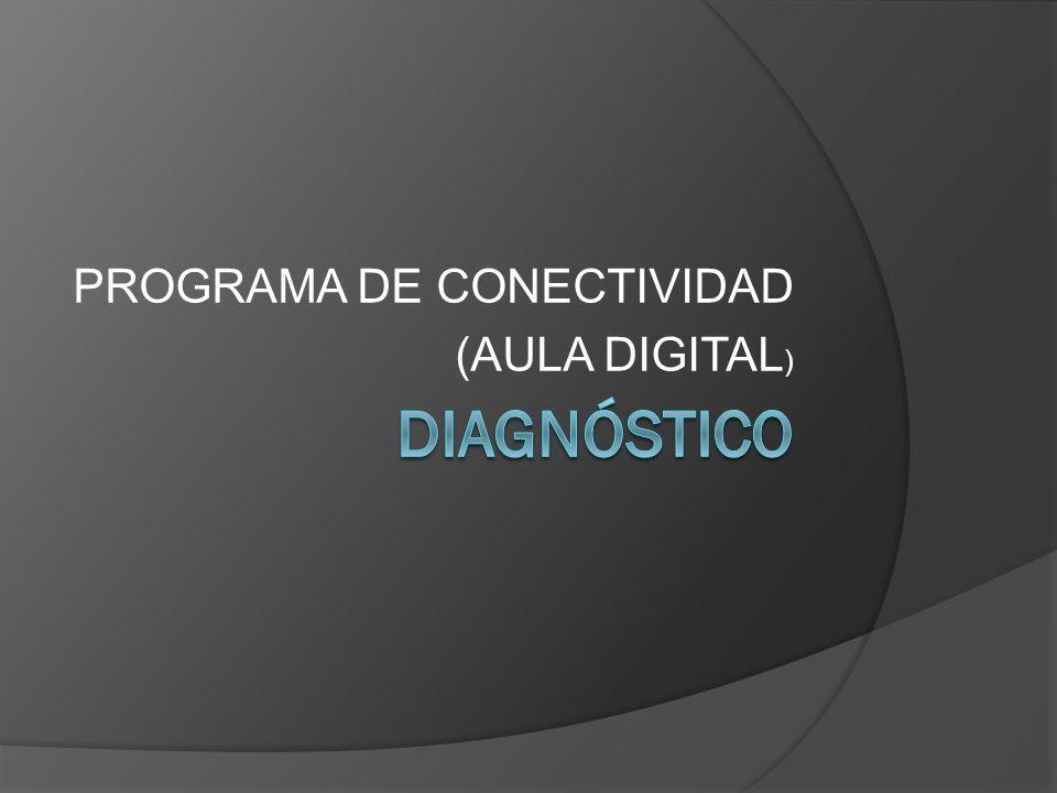 PROGRAMA DE CONECTIVIDAD (AULA DIGITAL )