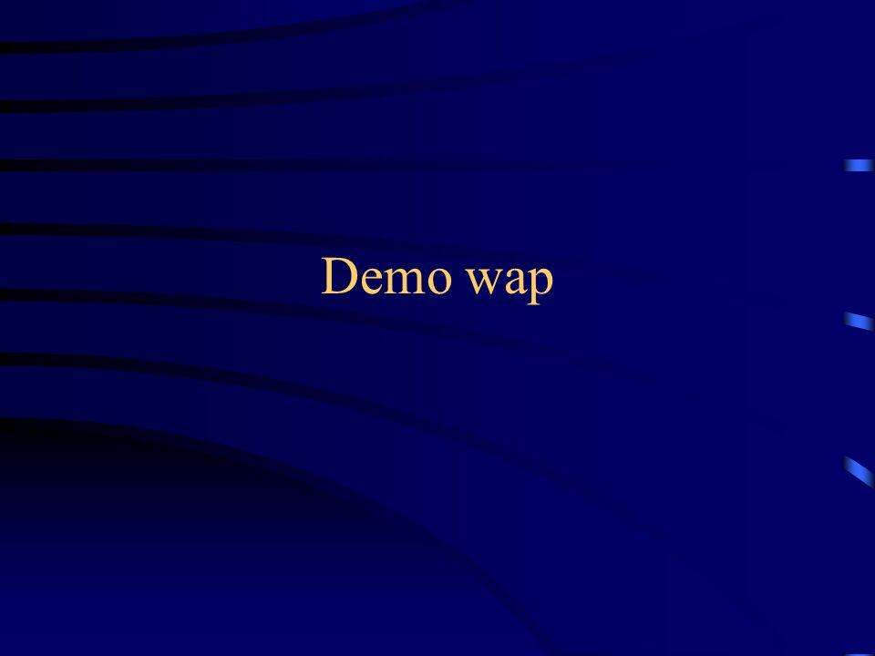 Demo wap