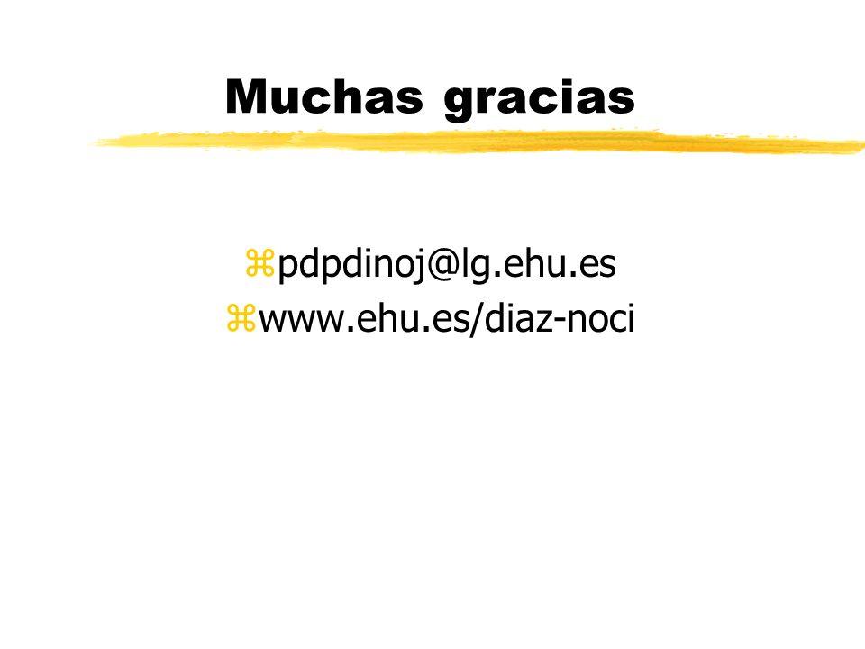 Otras aportaciones zUn equipo dirigido por el catedrático del departamento de Periodismo II, Jesús Canga, llevó a cabo sendas investigaciones (compara