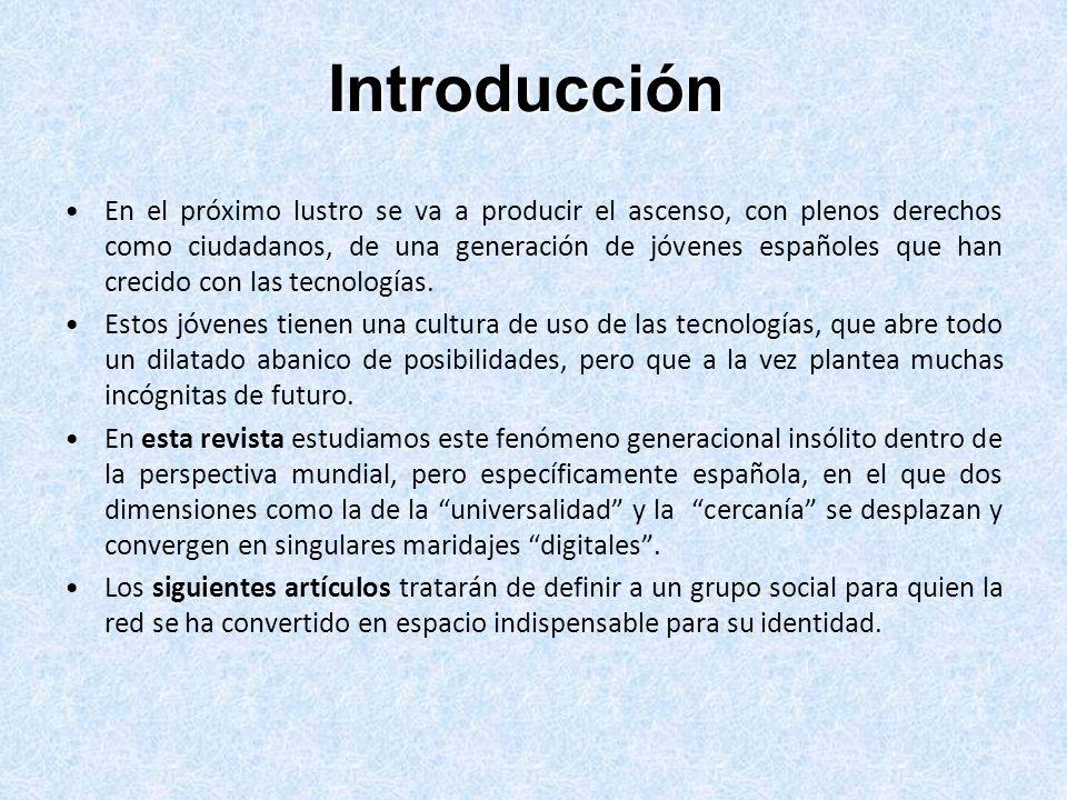 Redacción Observatorio de la Juventud en España Servicio de Documentación y Estudios Tel.