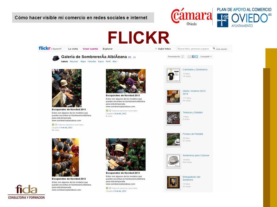 FLICKR Cómo hacer visible mi comercio en redes sociales e internet