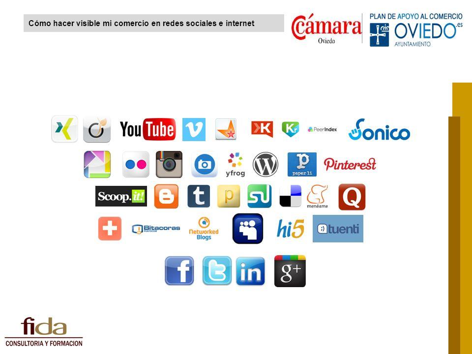 Cómo hacer visible mi comercio en redes sociales e internet