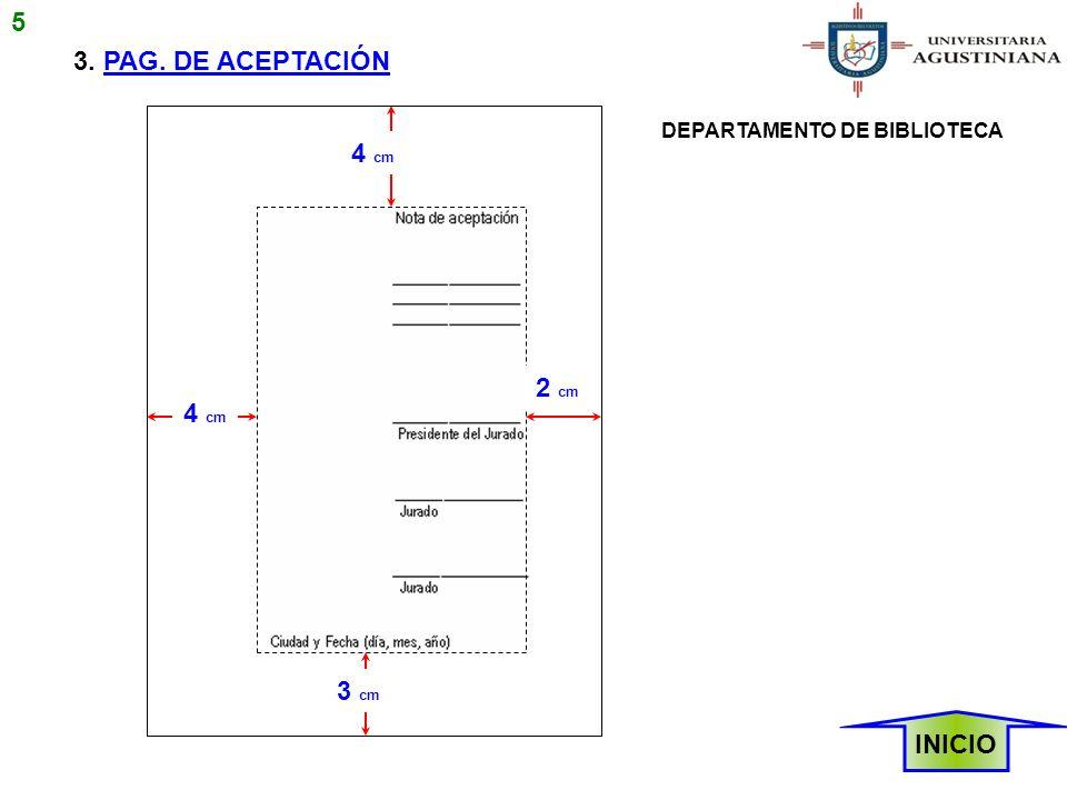 NOTAS DE PIE DE PÁGINA La referencia bibliográfica correspondiente a la cita se separa del texto con una línea horizontal continua de aproximadamente 12 espacios.