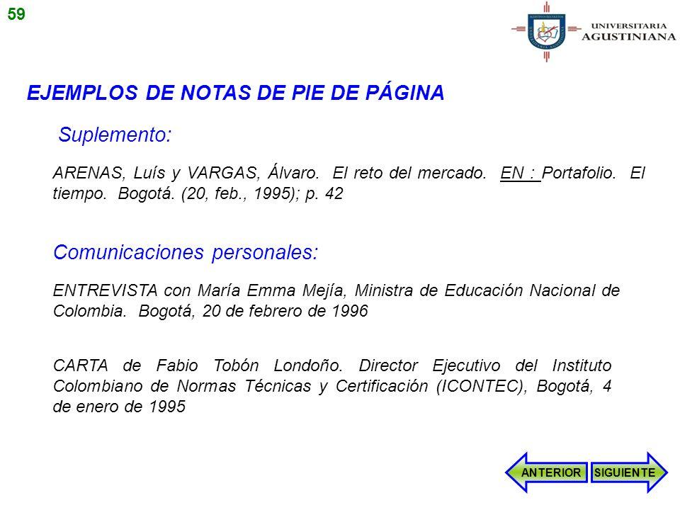 ENTREVISTA con María Emma Mejía, Ministra de Educación Nacional de Colombia. Bogotá, 20 de febrero de 1996 CARTA de Fabio Tobón Londoño. Director Ejec