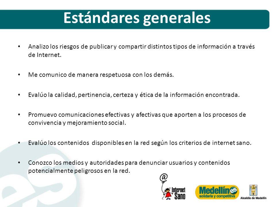 Objetivos de aprendizaje Incorporar los contenidos de la campaña Internet Sano a todos los programas de formación de docentes en TIC.
