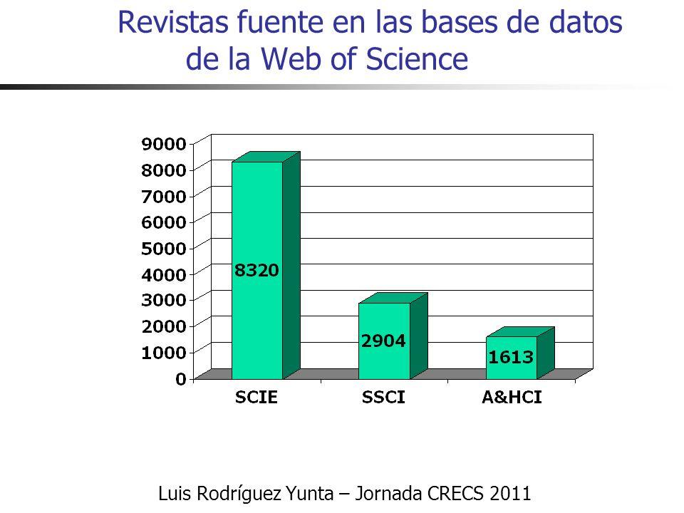 Luis Rodríguez Yunta – Jornada CRECS 2011 ¿Tendencia a la endogamia.