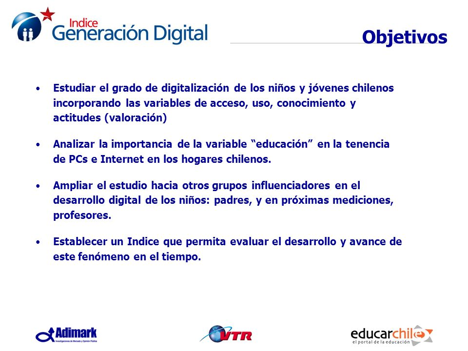 Valor educativo INDICE GENERACION DIGITAL