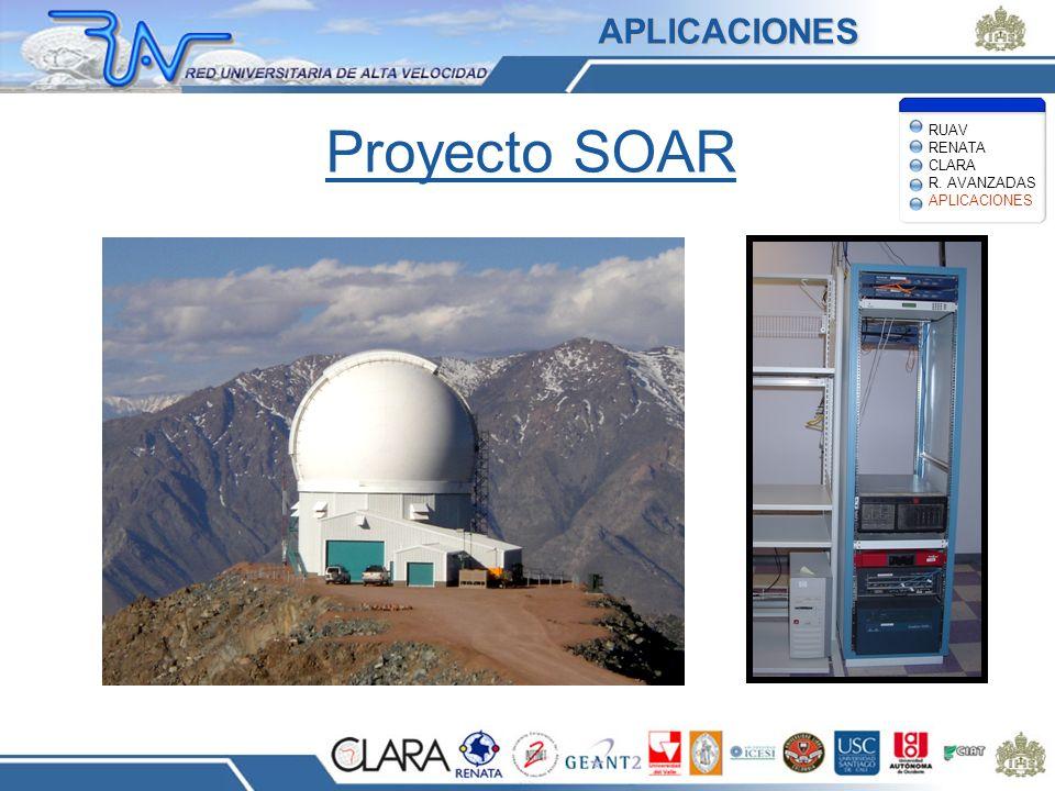 Proyecto SOAR RUAV RENATA CLARA R. AVANZADAS APLICACIONES APLICACIONES