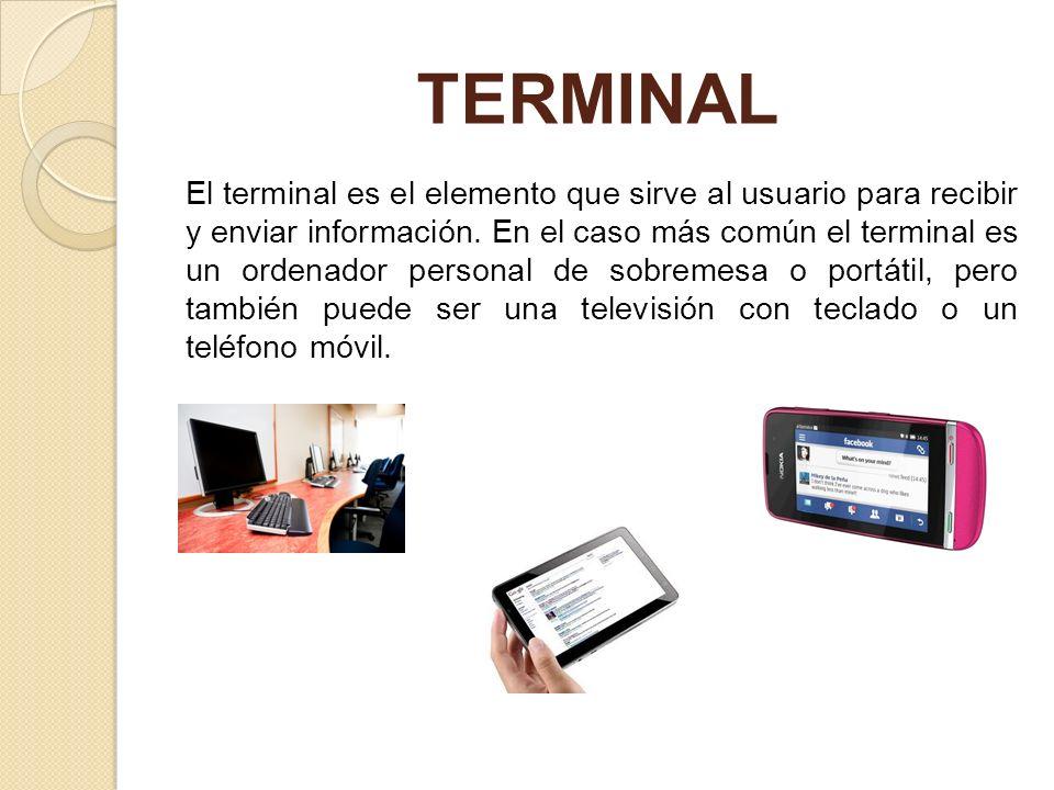 CONEXIÓN La comunicación entre nuestro ordenador e Internet necesita transportarse a través de algún medio físico.