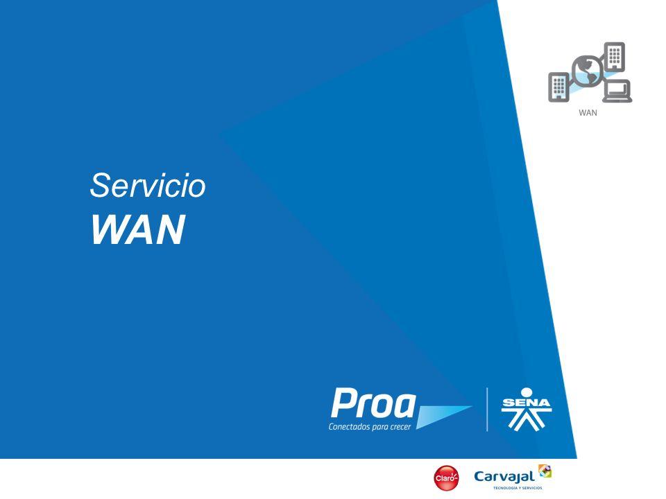 Servicio WAN