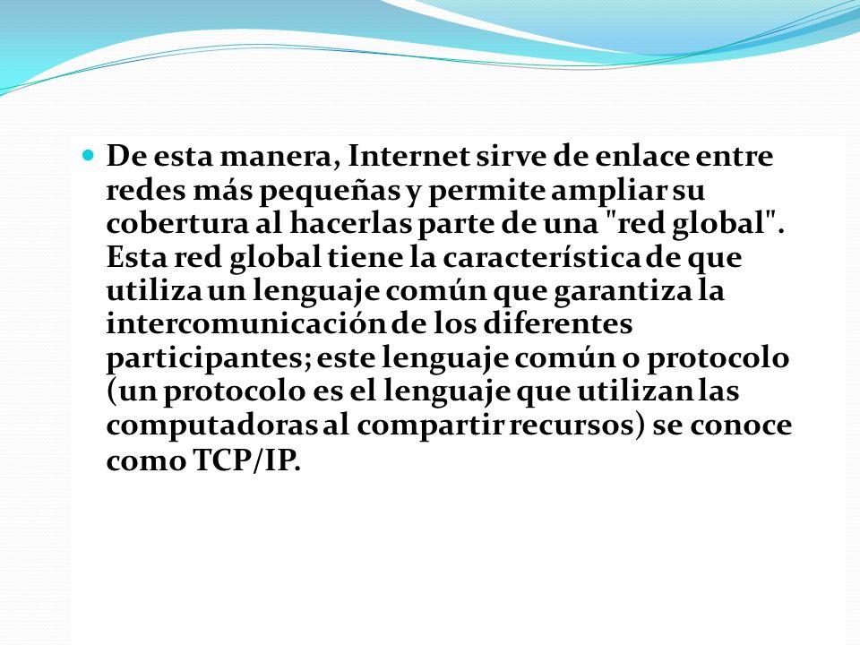 Después de esto los países con gran infraestructura tecnológica se fueron uniendo a internet y los países subdesarrollados experimentaron una brecha digital enorme y seguían dependiendo de una conexión antigua y muy lenta