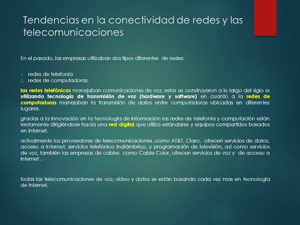 TIPOS DE RED INALAMBRICA