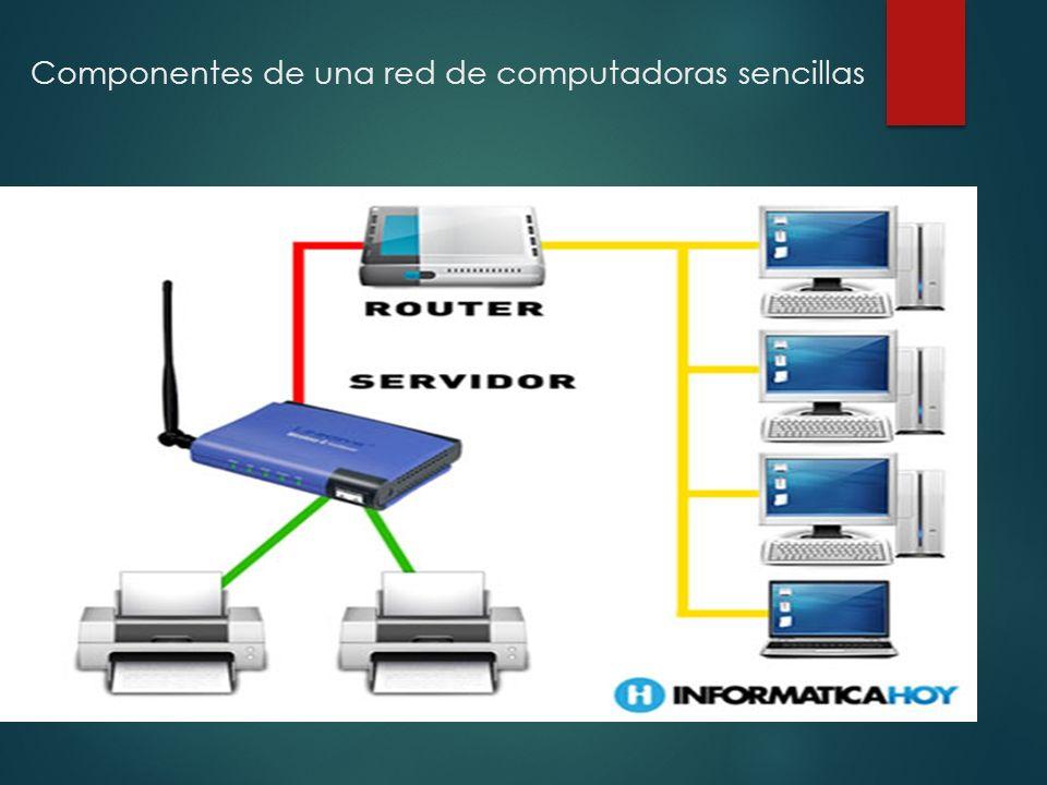 Otros dispositivos que componen una red estan: un conmutador o switch es un dispositivo digital lógico de interconexión de redes de computadoras que opera en la capa de enlace de datos del modelo osi.