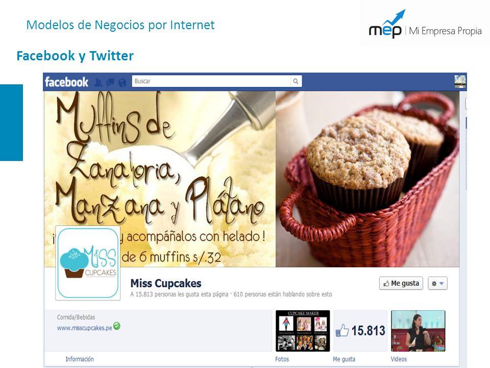 Modelos de Negocios por Internet Facebook y Twitter