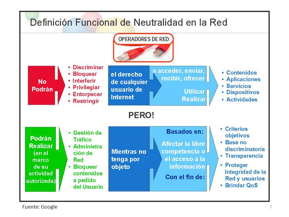 CHILE Pionero en una Ley sobre Neutralidad de Red.