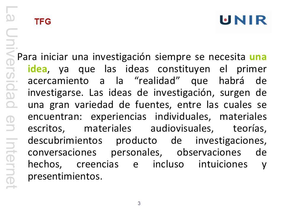 La Universidad en Internet 24 TFG