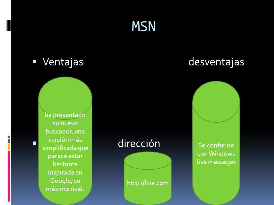 MSN Ventajas desventajas dirección ha presentado su nuevo buscador, una versión más simplificada que parece estar bastante inspirada en Google, su máx