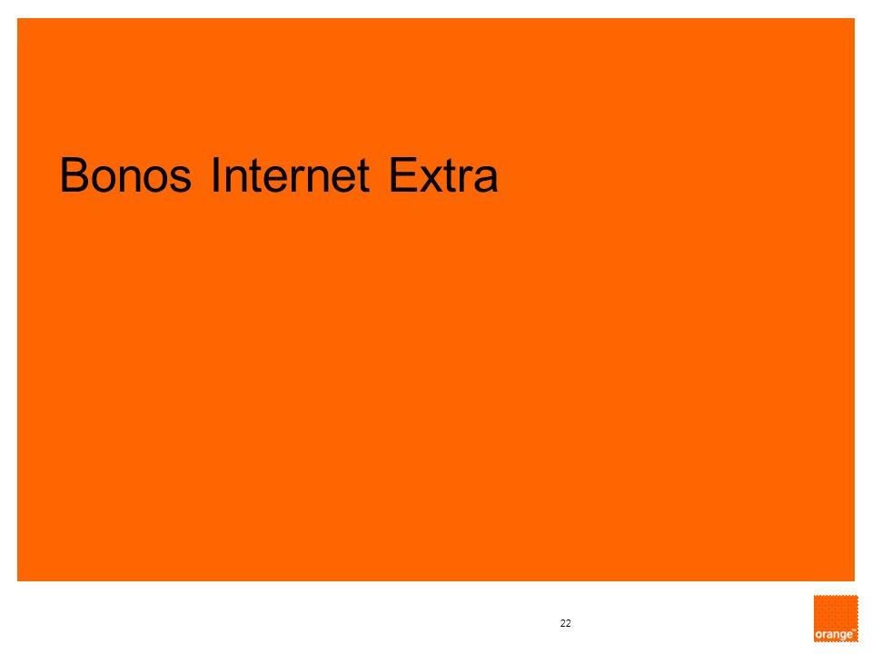 22 Bonos Internet Extra