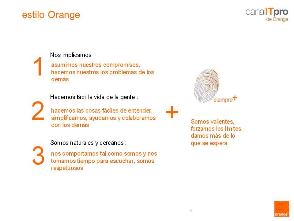 4 estilo Orange