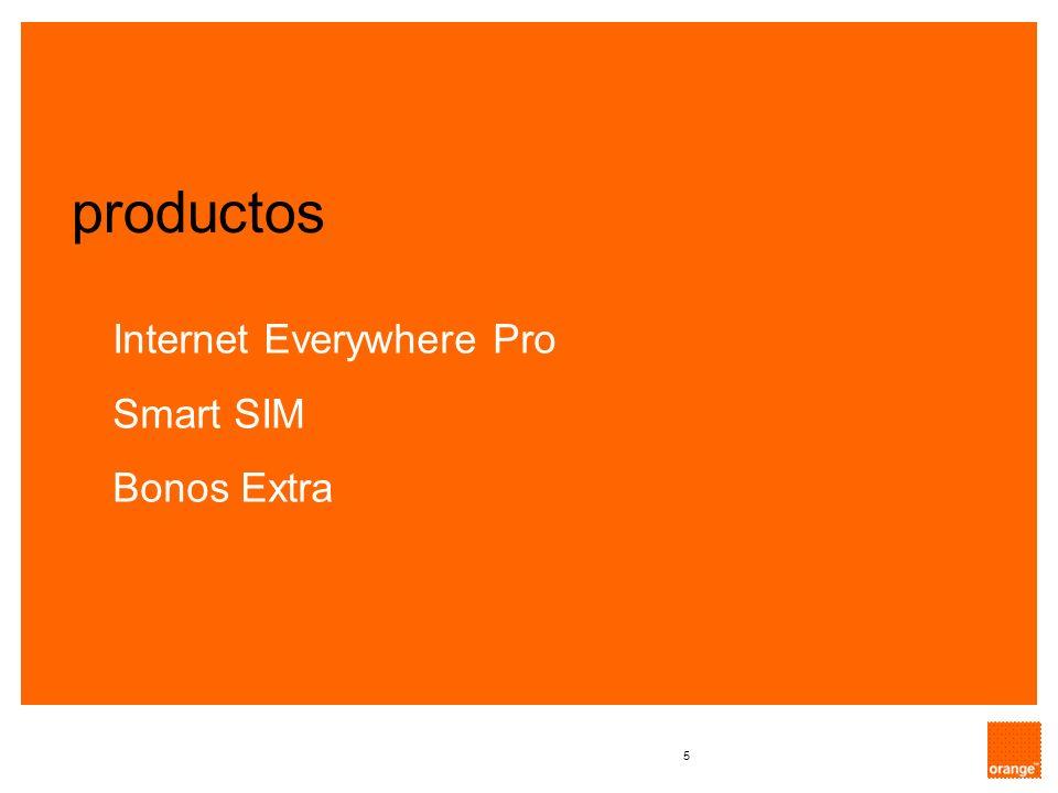 5 Internet Everywhere Pro Smart SIM Bonos Extra productos