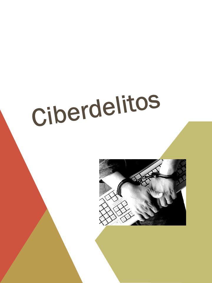 CIBERDELITOS http://www.youtube.com/watch?v=tkHVFfCXTrs Ante el vacío legal y la negligencia judicial, robar datos es un delito que avanza jaqueando la privacidad y confiabilidad informática por la adquisición en la captación de base de datos en el mercado negro ilegal.