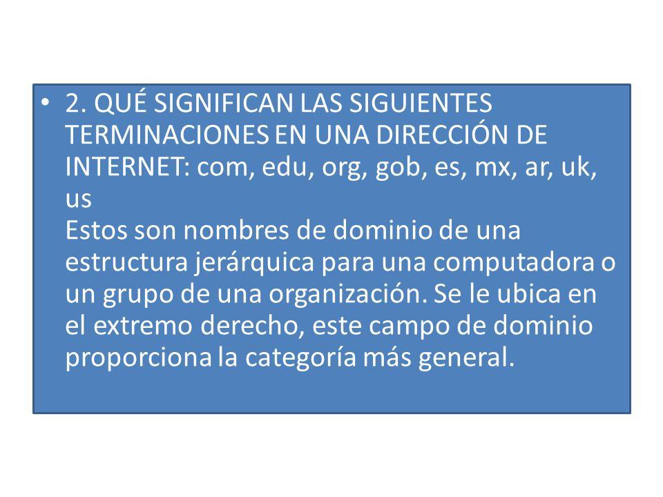 1. ¿QUÉ ES EL INTERNET.