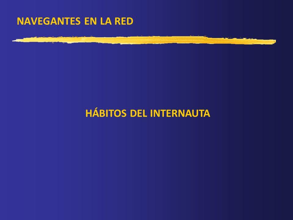 NAVEGANTES EN LA RED HÁBITOS DEL INTERNAUTA