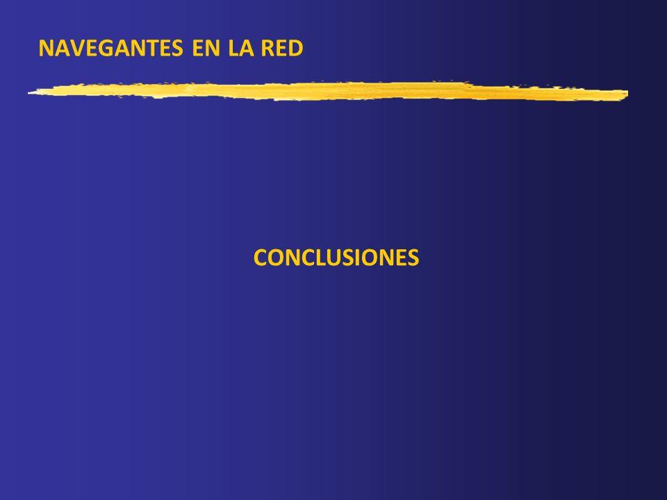 NAVEGANTES EN LA RED CONCLUSIONES